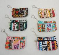 "5""x3"" Two-Comp Zippered Change Purse [Printed]"